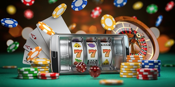 slot machines present in online casinos